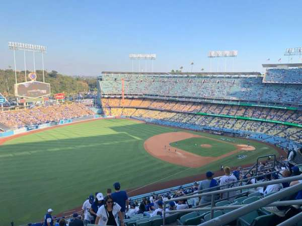 Dodger Stadium, section: 41RS, rangée: FF, siège: 14