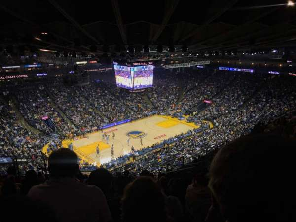 Oracle Arena, section: 220, rangée: 13, siège: 7
