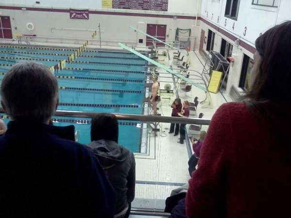 Lockport High School Swimming Place, section: 3, rangée: 3, siège: 5