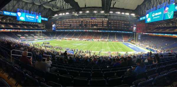 Ford Field, section: 129, rangée: 39, siège: 8