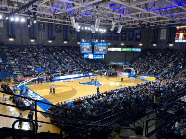 Alumni Arena (University at Buffalo), section: 209, rangée: G, siège: 9