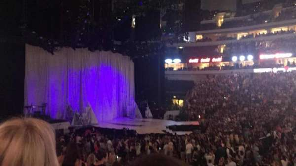 American Airlines Center, section: 118, rangée: O