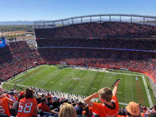 Empower Field at Mile High Stadium, section: 531, rangée: 31, siège: 10