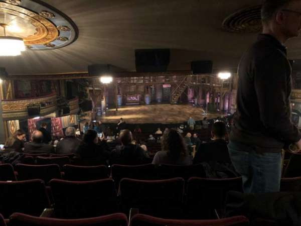Richard Rodgers Theatre, section: Standing Room Only, siège: 5