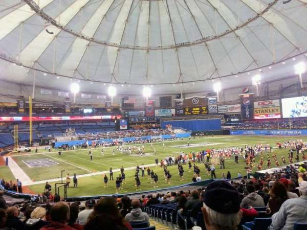 Tropicana Field, section: 104