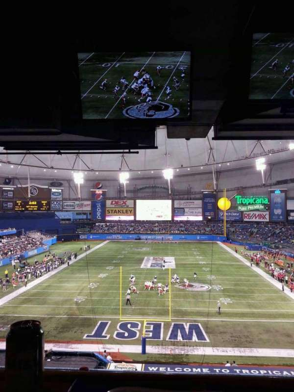 Tropicana Field, section: Suite 23
