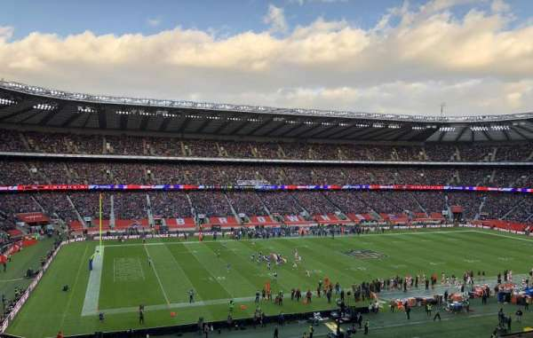 Twickenham Stadium, section: M11, rangée: 66, siège: 290