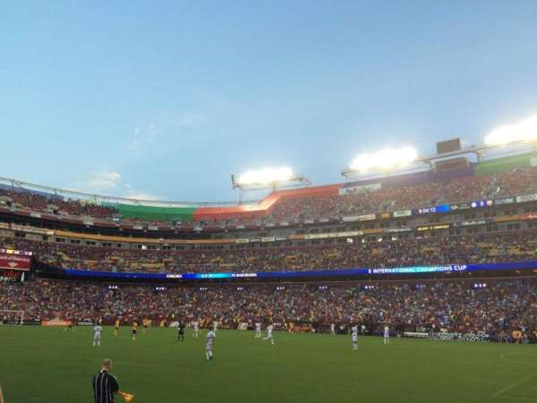 FedEx Field, section: 118, rangée: 1, siège: 14