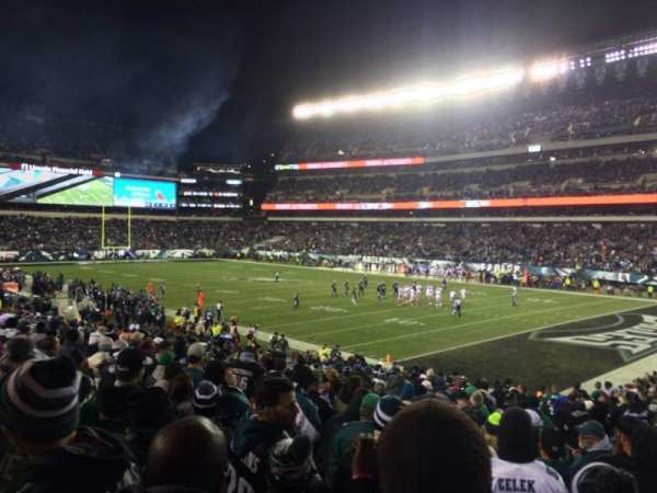 Lincoln Financial Field, section: 106, rangée: 23, siège: 5