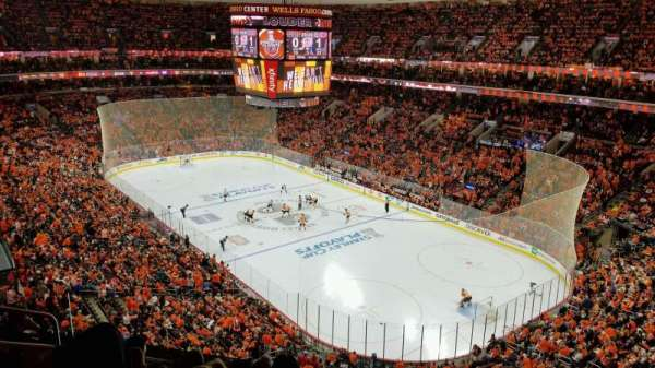 Wells Fargo Center, section: 217, rangée: 6, siège: 3