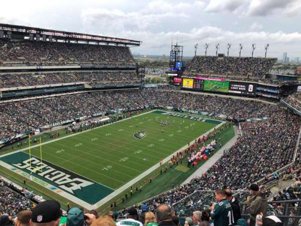 Lincoln Financial Field, section: 218, rangée: 14, siège: 6