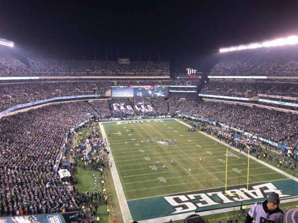 Lincoln Financial Field, section: 233, rangée: 10, siège: 5