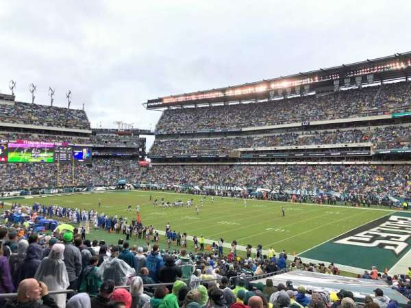 Lincoln Financial Field, section: 125, rangée: 33, siège: 22