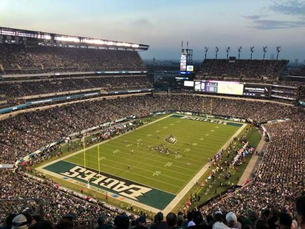 Lincoln Financial Field, section: 217, rangée: 14, siège: 1