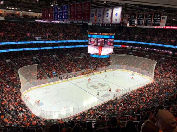 Wells Fargo Center, section: 210, rangée: 15, siège: 12