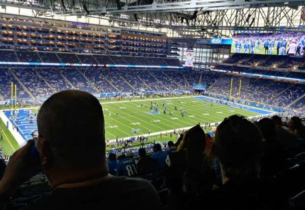 Ford Field, section: 326, rangée: 13, siège: 10