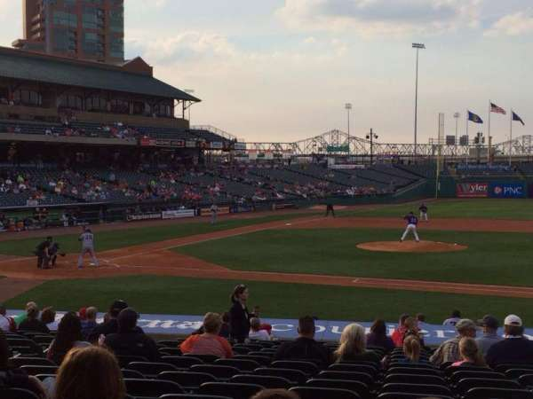 Louisville Slugger Field, section: 110, rangée: V, siège: 12