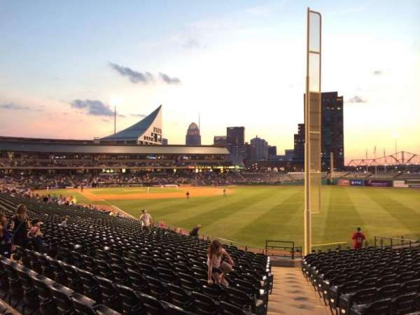 Louisville Slugger Field, section: 101, rangée: Z, siège: 24