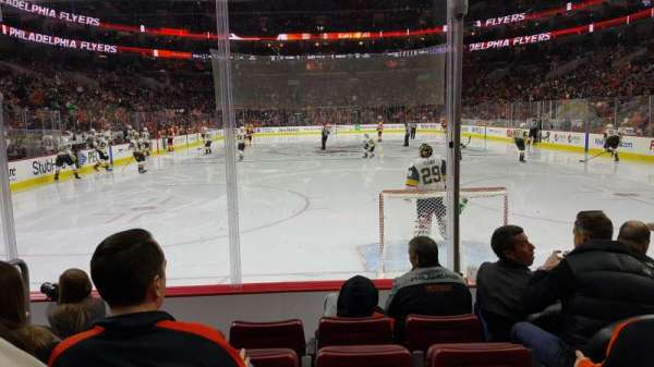 Wells Fargo Center, section: 107, rangée: 5, siège: 3
