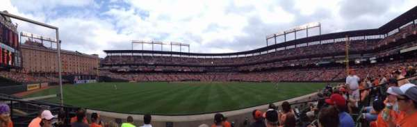 Oriole Park at Camden Yards, section: 86, rangée: 4, siège: 6