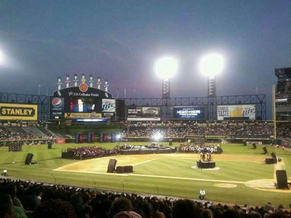 Guaranteed Rate Field, section: 136