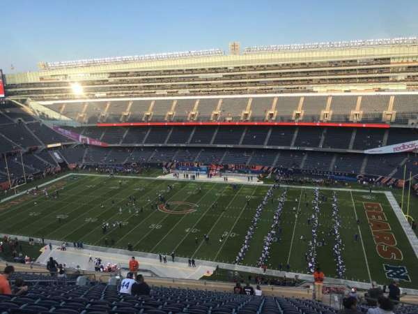 Soldier Field, section: 434, rangée: 20, siège: 19