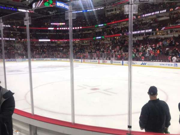 United Center, section: 119, rangée: 4, siège: 8