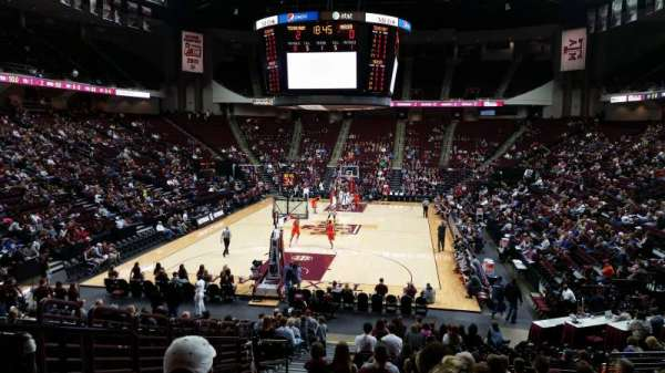 Reed Arena, section: 127