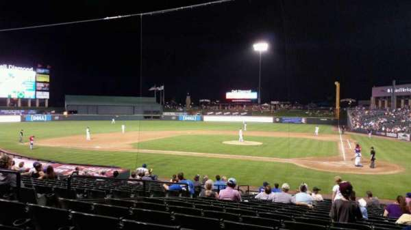 Dell Diamond, section: 117, rangée: 20, siège: 4