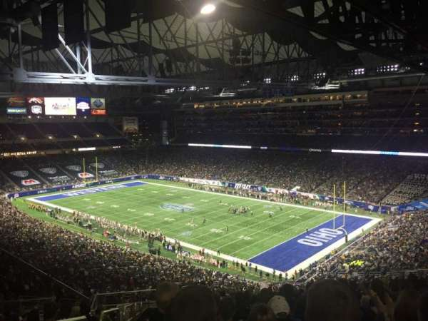 Ford Field, section: 338, rangée: 19, siège: 2