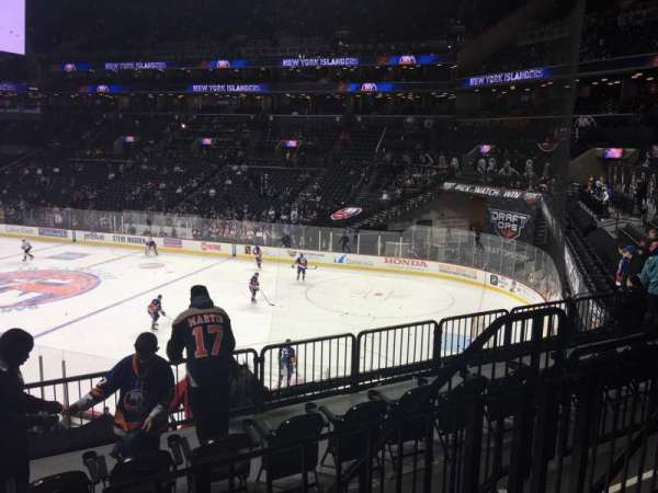 Barclays Center, section: 104, rangée: 5, siège: 6