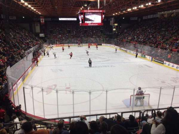 Floyd L. Maines Veterans Memorial Arena, section: 9, rangée: H, siège: 2