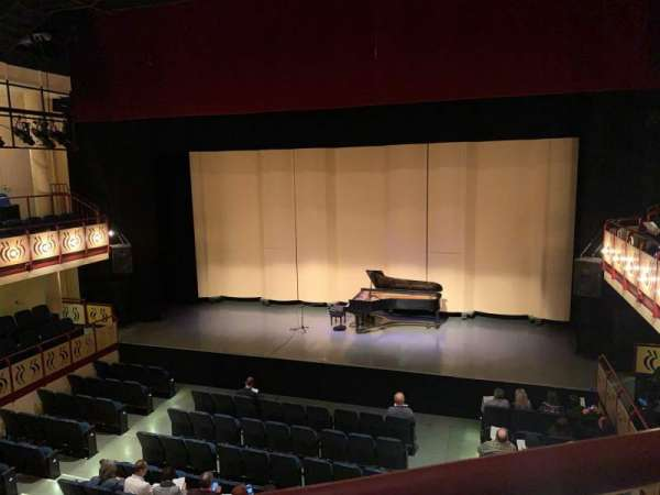 Ruth B. Shannon Center For The Performing Arts, section: Bal 1, rangée: A, siège: 7