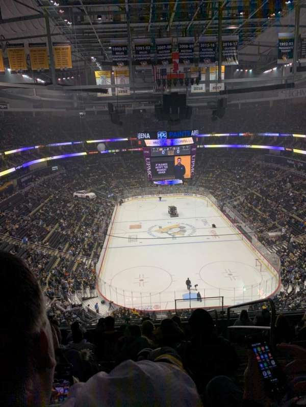 PPG Paints Arena, section: 212, rangée: J, siège: 2