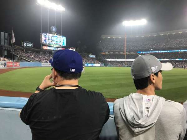 Dodger Stadium, section: 49FD, rangée: A, siège: 13