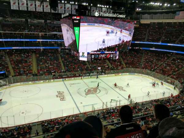 Prudential Center, section: 127, rangée: 3, siège: 14