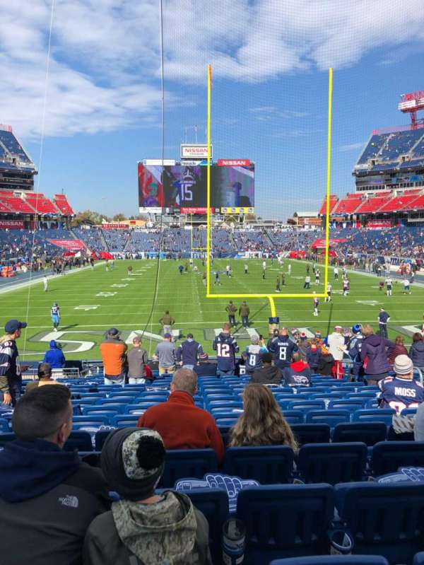 Nissan Stadium, section: 124, rangée: T