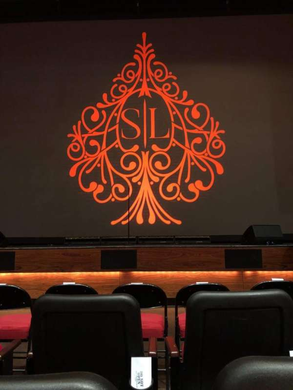 The Grand Theater at Foxwoods, section: Orchestra Center, rangée: C, siège: 107