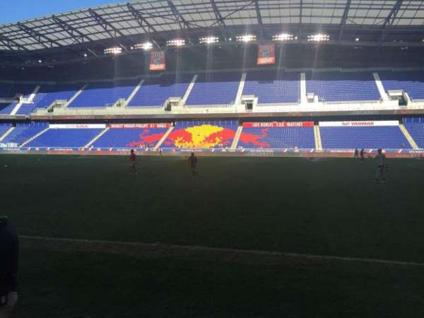 Red Bull Arena (New Jersey), section: 108, rangée: 1