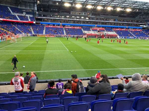 Red Bull Arena (New Jersey), section: 128, rangée: 9, siège: 25