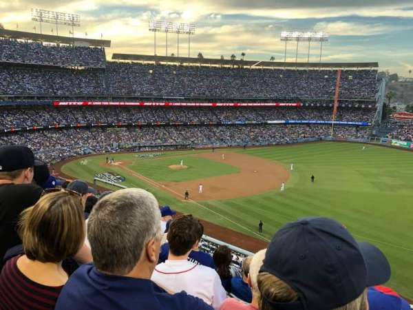 Dodger Stadium, section: 40RS, rangée: E, siège: 11