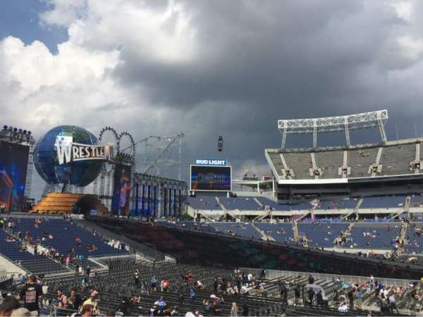Camping World Stadium, section: 209, rangée: 12, siège: 1