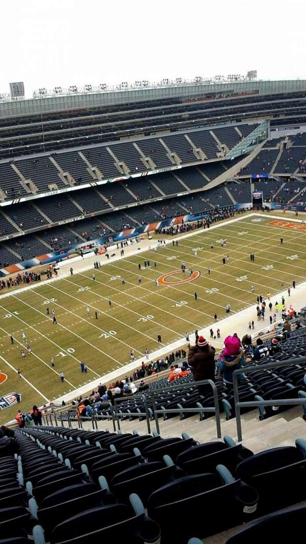 Soldier Field, section: 443, rangée: 37