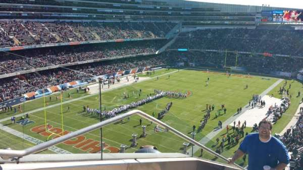 Soldier Field, section: 446, rangée: 1
