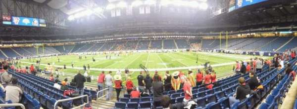 Ford Field, section: 109