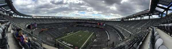 Metlife Stadium, section: 347, rangée: 17, siège: 18