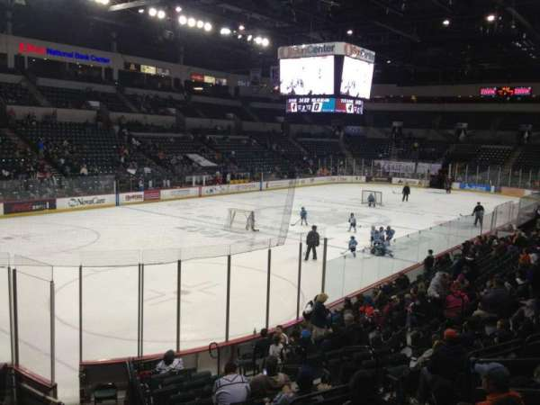 Cure Insurance Arena, section: 109