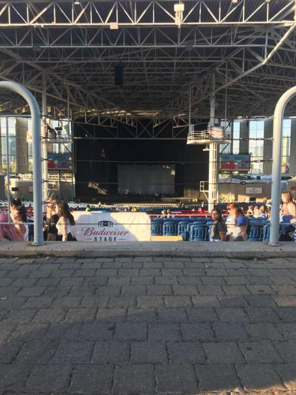 Budweiser Stage, section: Lawn
