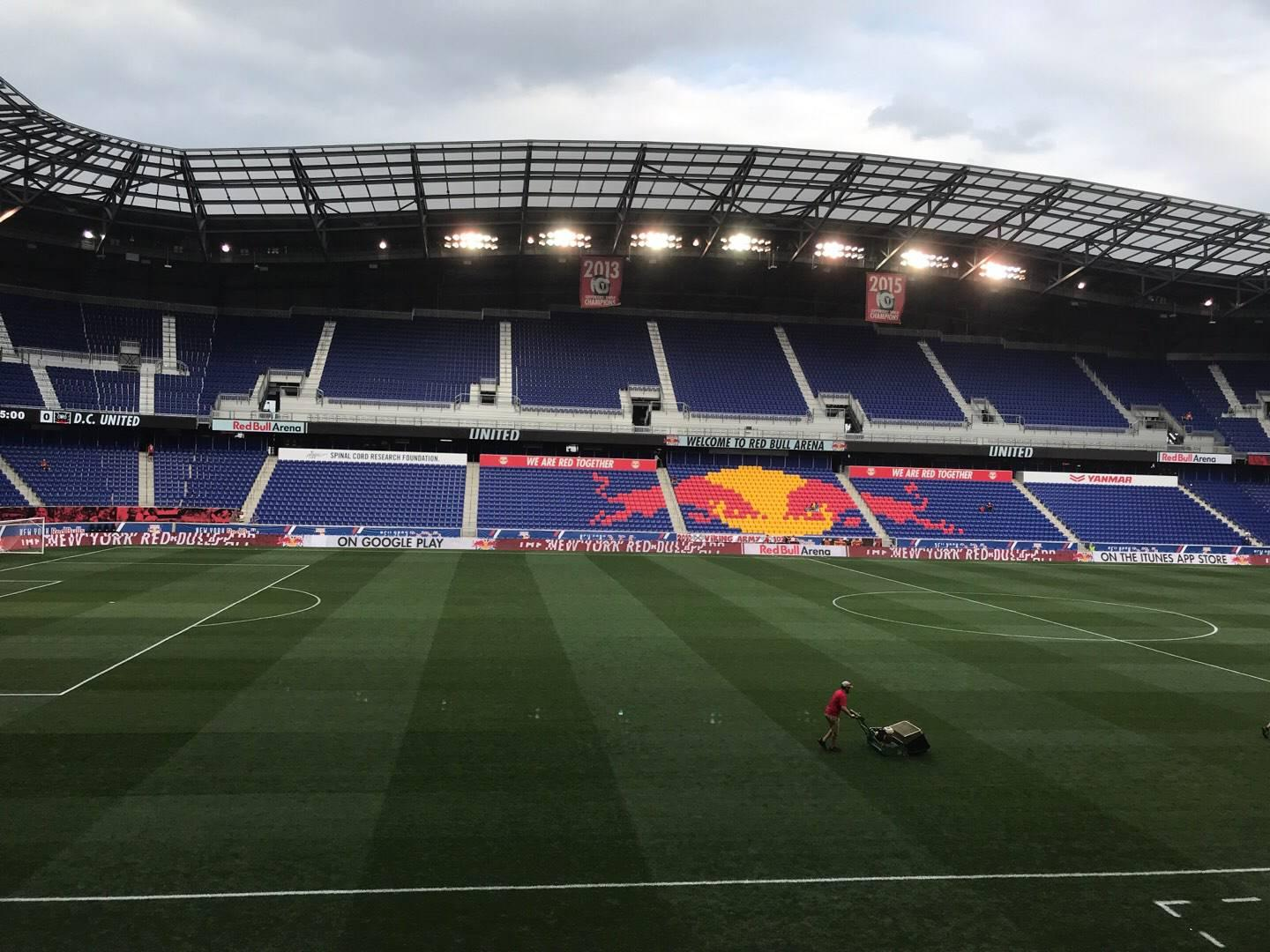 Red Bull Arena (New Jersey) Section 111 Rangée 12 Siège 17