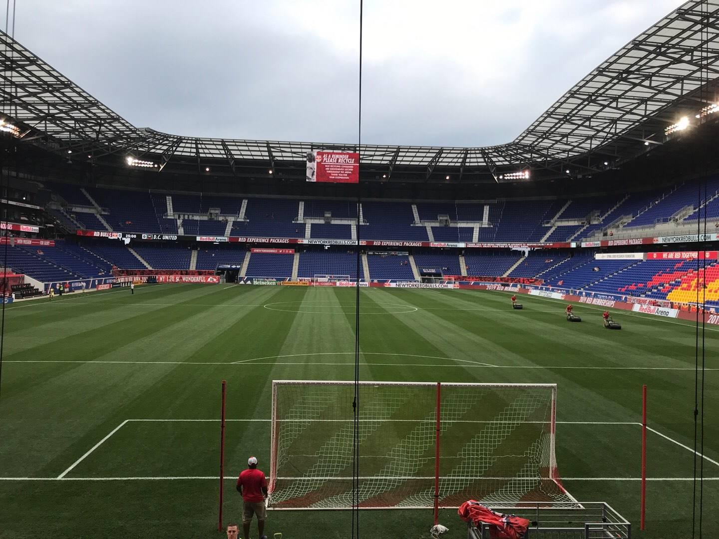 Red Bull Arena (New Jersey) Section 101 Rangée 9 Siège 21